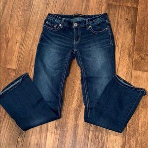 Express women's boot cut jeans